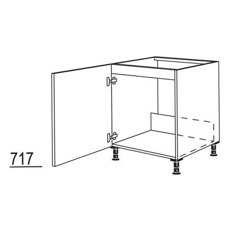 Spülenschrank / Unterschrank nobilia elements SPUD60, 332